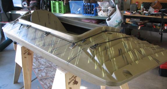 Try Duck Boat Blind Design Des