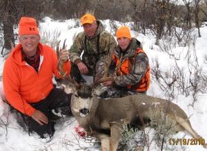2010 Late season mule deer.