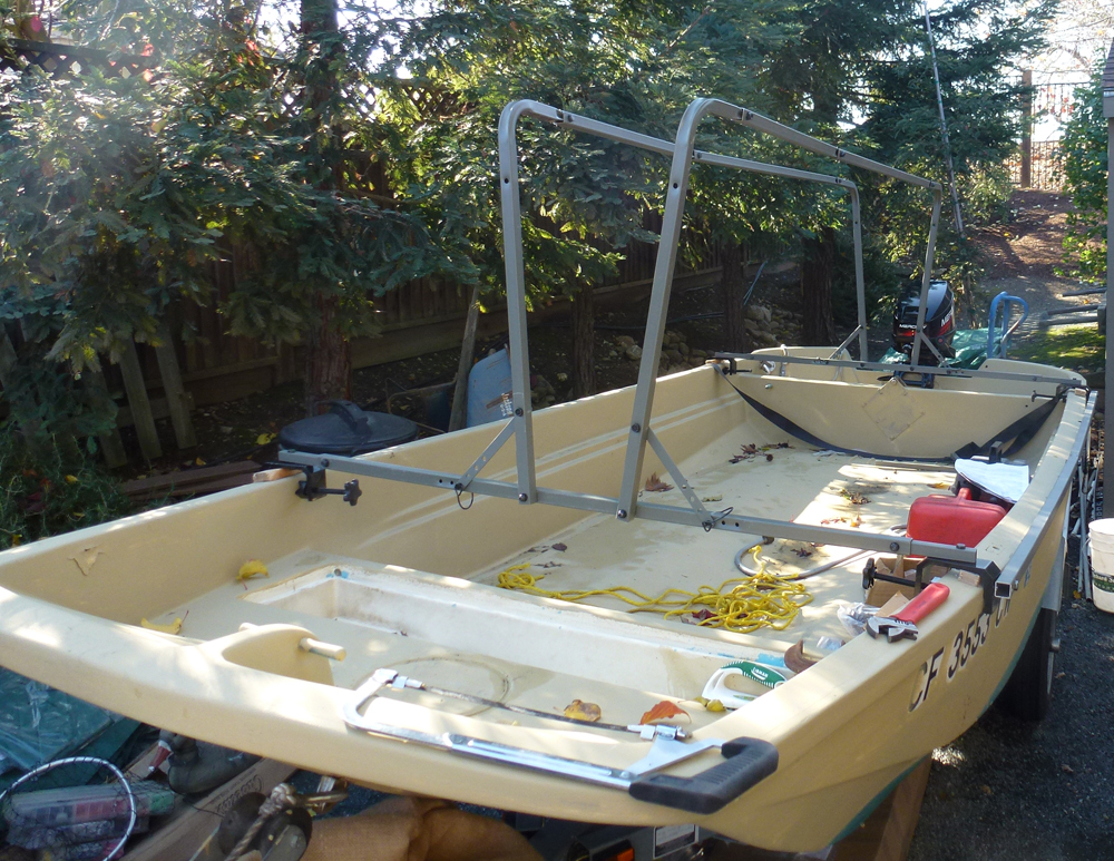 ... Boat Duck Blind Plans as well Duck Boat Blind Frame. on homemade duck