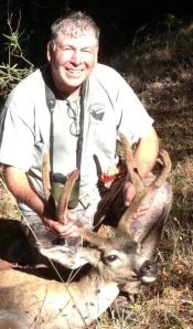 My personal best was arrowing the nice blacktail buck.