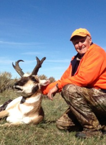 Ken knocked this one down at 169 yards. This buck has impressive mass and great cutters.