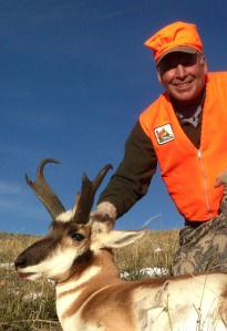 Late on day one, my guide John led me to this buck. I was quite pleased.