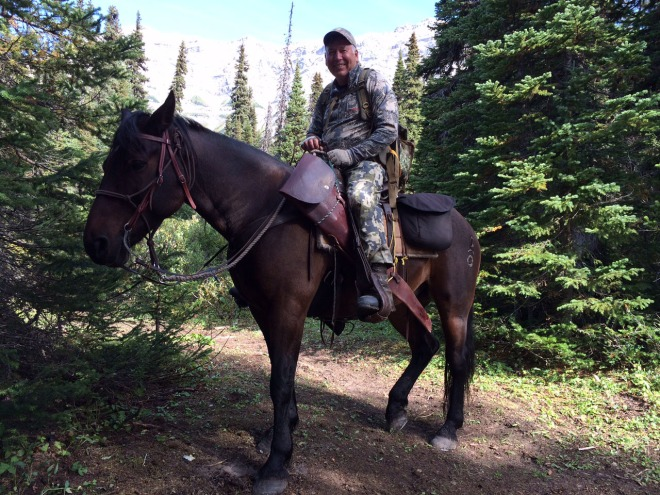Ranger was a trusty steed. I covered about 30 miles on his back.