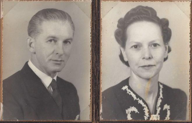 grandma and grandpa Fletcher