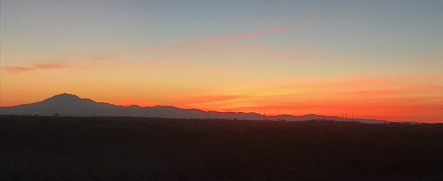 IMG_4053 Mt Diablo sunset