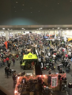 The Salt Palace exhibit hall was packed with hunting enthusiasts.
