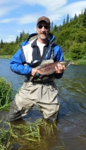 Joe DiDonato with a nice sockeye.
