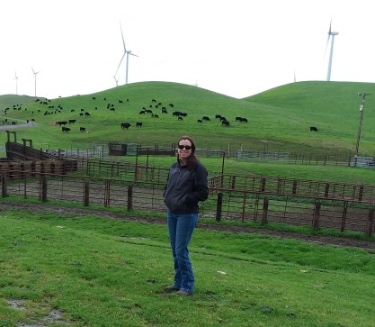 Janice Marciel will lead a tour of her ranch and wind farm.
