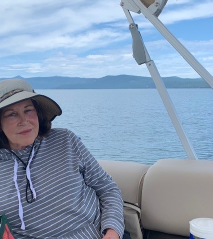 IMG_7071 Linda cruising Almanor